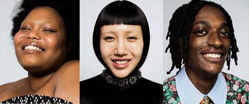 Enam Asiama, Ruoyi Yi och Jahmal Baptiste är också med i Gucci Beautys kampanj.
