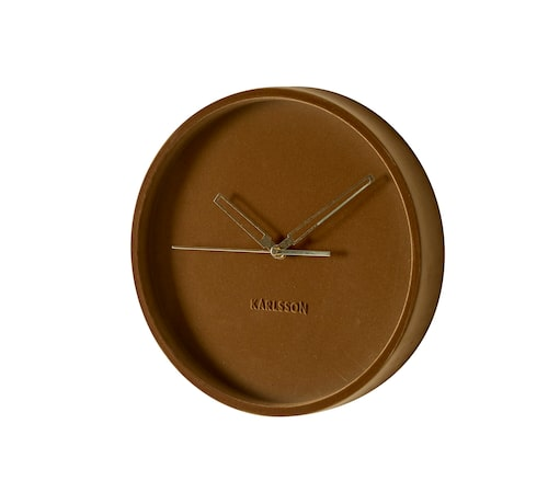 Nog blir tidens gång mer angenäm när klockan är mjuk och guldig. Klocka Lush  i velour, 30 cm, 799 kr, Ilva.