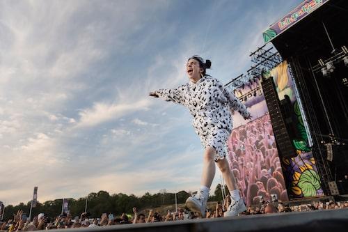 Billie Eilish chefade på Lollapalooza-festivalen i Stockholm förra sommaren.
