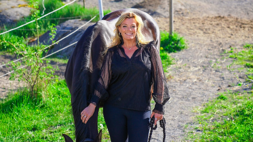 Gry Forssell är aktuell som en av sommarpratarna i Sommar i P1. När hon inte jobbar hänger hon i stallet.