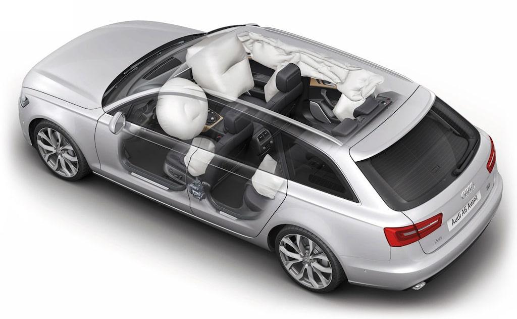 Audi återkallar A6 på grund av fel på krockgardinerna