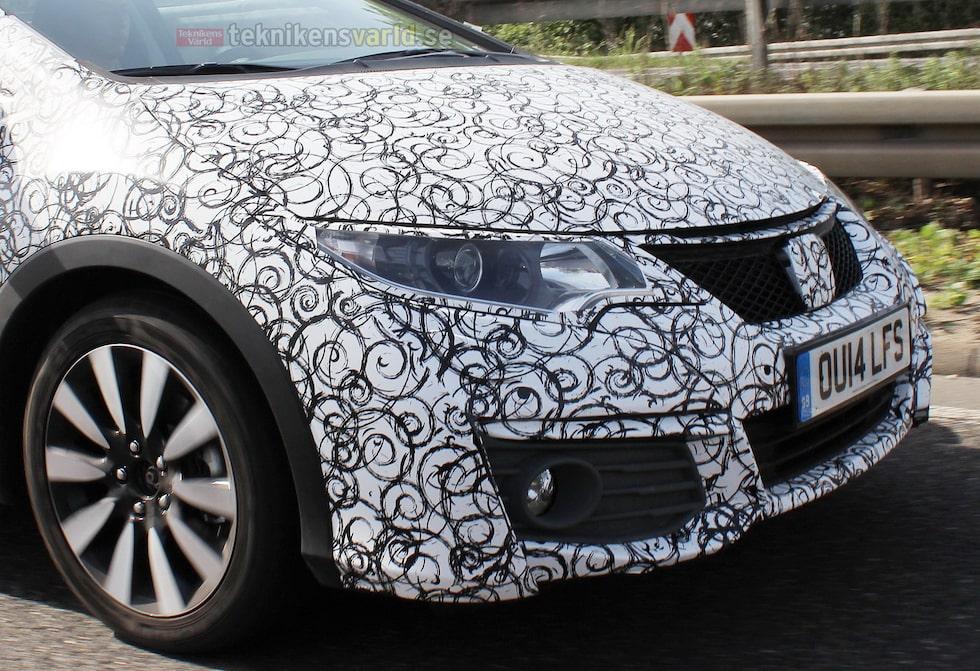 Honda Civic facelift 2015