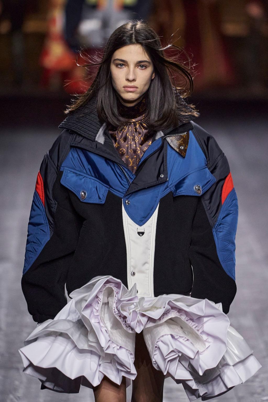 Höstmode 2020: kreativ styling hos Louis Vuitton AW20.
