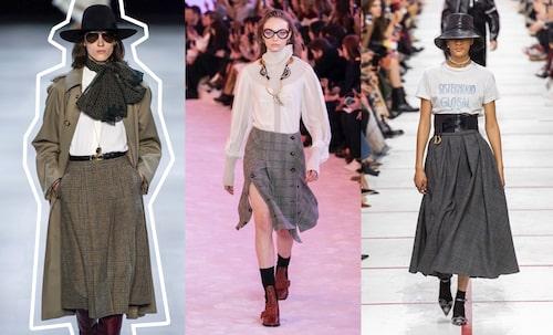 Celine AW19, Chloé AW19, Christian Dior AW19.
