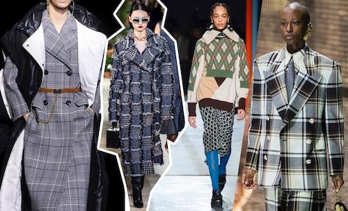 Givenchy AW19, Oscar de la Renta AW19, Preen AW19, Gucci AW19.