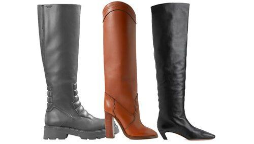 Lårhöga stövlar, eller även overknee boots som de kallas, är en av nyckeltrenderna för höstmodet 2020.