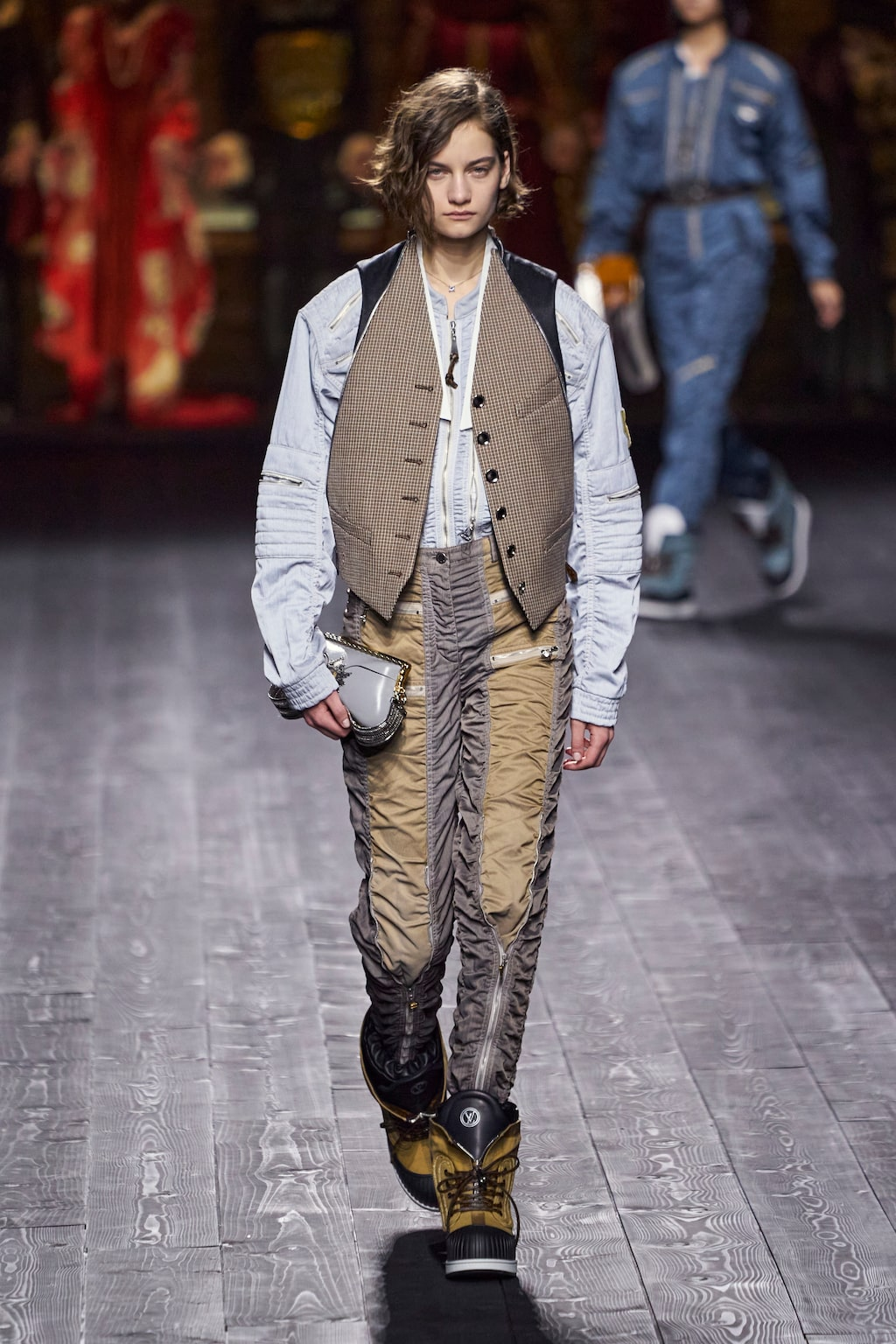 Höstmode 2020: androgynt hos Louis Vuitton AW20.