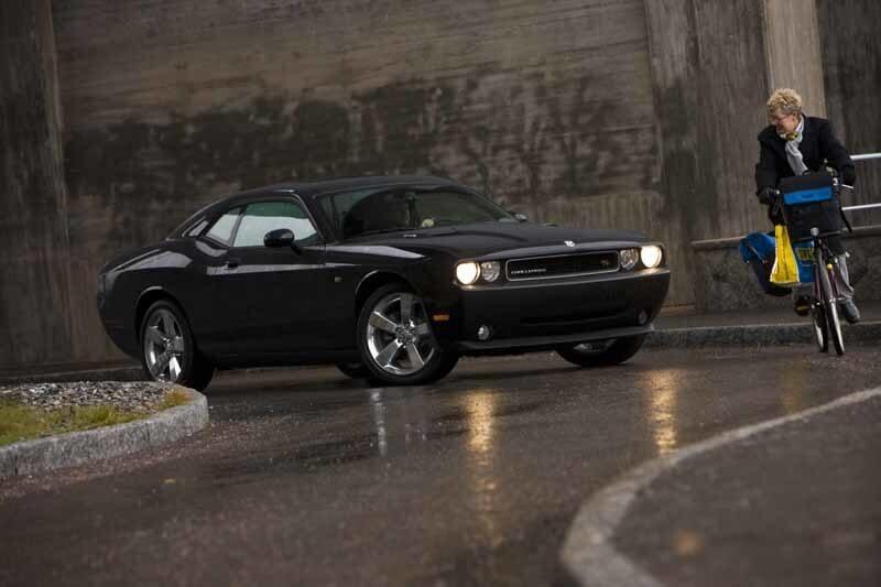 Provkörning av Dodge Challenger R/T