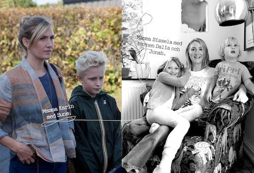 Sissela Benn är den tredje skådespelaren som tolkar rollen som mamma Karin i Sune-filmerna.