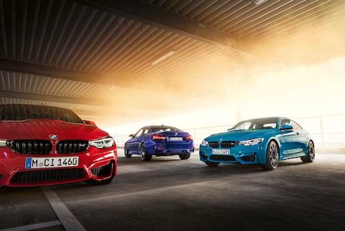 Är du en riktig BMW M-fanatiker bör du kanske beställa tre bilar, en i varje färg.