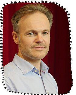 Meteorolog Martin Hedberg arbetar med klimatfrågor.