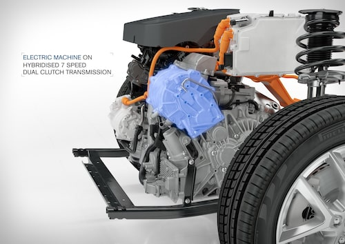 T5 Twin Engine - hybridised 7 speed Dual Clutch Transmission