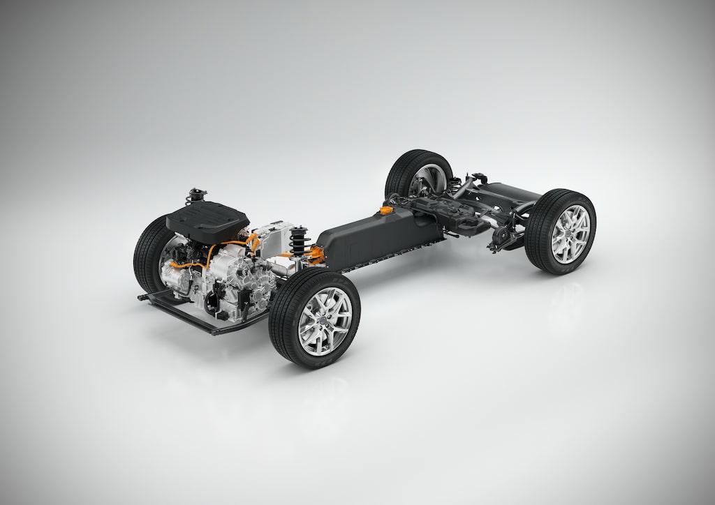 Volvos nya, mindre plattform CMA, som förhoppningsvis kommer bli lika lyckad som den större SPA-plattformen.