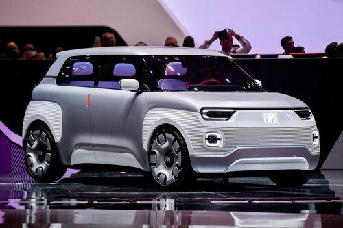Fiats konceptbil Centoventi – med vissa drag av Fiat Panda.