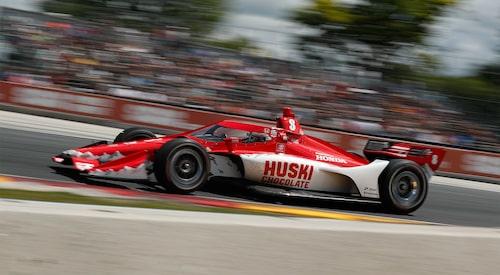 Marcus Ericsson var knappt sex sekunder från pallen.