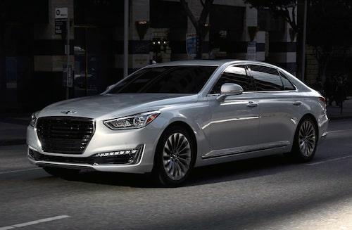 ... liksom Hyundais lyxbil Genesis G90.