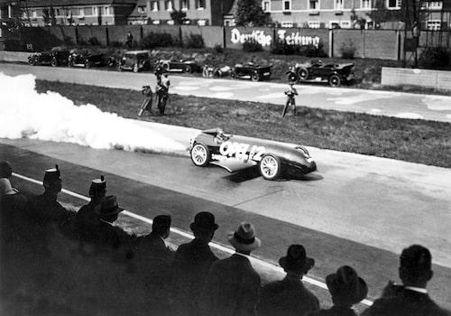 Opel RAK 2 kom upp i 238 km/h