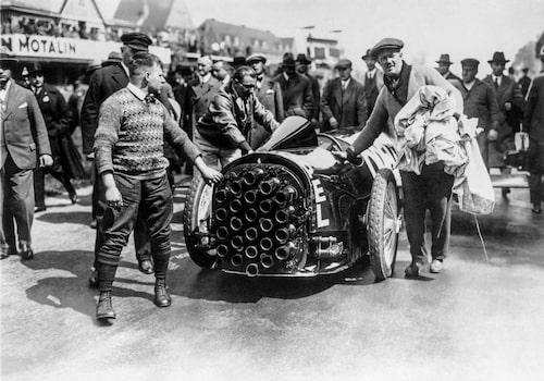 Opel RAK 2 på Avus-banan 1928
