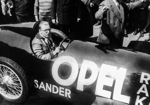 Fritz von Opel i Opel RAK 2