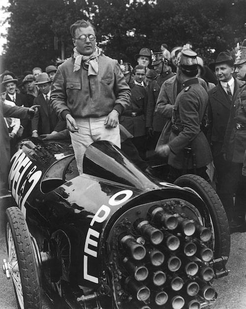 Fritz von Opel står i Opel RAK 2