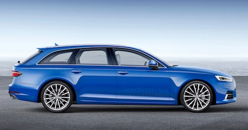 Fortfarande omisskännliga Audi-former, men med en modern touch.