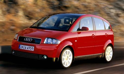 ... kultförklarade Audi A2...