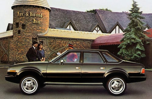 AMC Eagle Sedan.