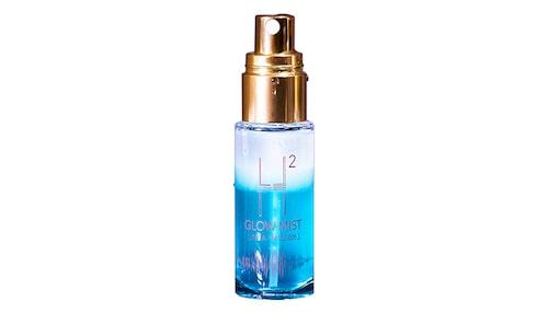 Recension på H2glow face mist, Linda Hallberg Cosmetics.