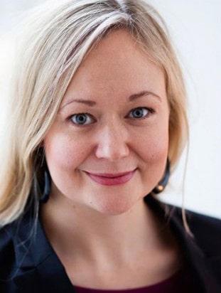 Sofia Rasmussen är statsvetare i grunden.