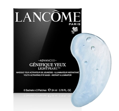 Recension på Advanced génifique light-pearl eye mask, 6 st, Lancôme.