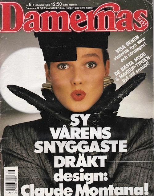 Damernas Värld, februari 1988