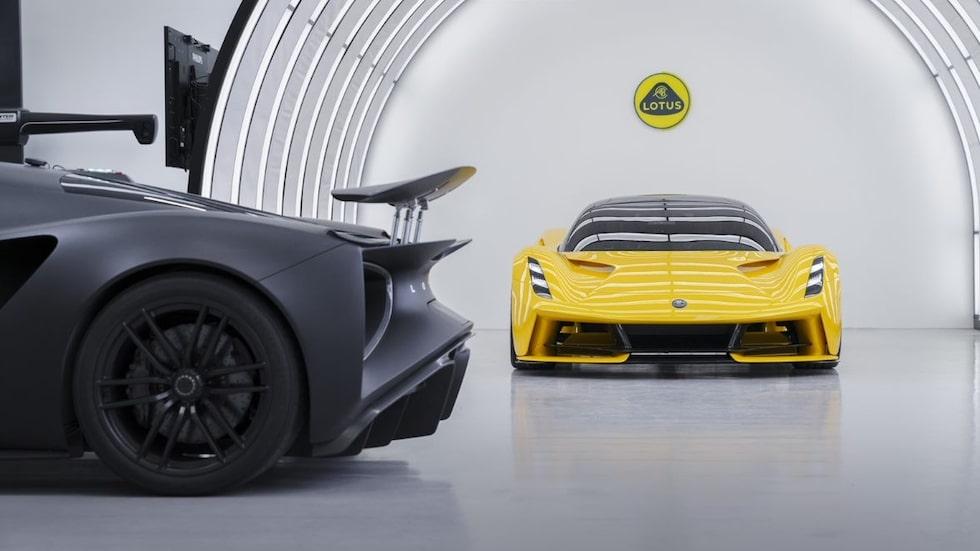 Evija är starten på Lotus helelektriska satsning.