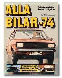 Alla Bilar 1974