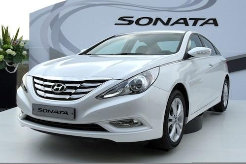 18 september. Glöm Hyundai Sonata. Nya i40 tar över efter gamla trotjänaren. Bilen är dock inte på plats i Frankfurt utan visas i Sydkorea.