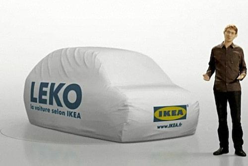 25 mars. Ikea lanserar miljövänlig bil! Eller nej, så är det inte. Det visar sig senare vara en webbaserad bilpool i Frankrike som Ikea lanserar.