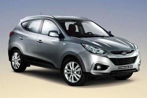 25 augusti. Hyundai visar nya ix35, efterträdaren till Tucson.
