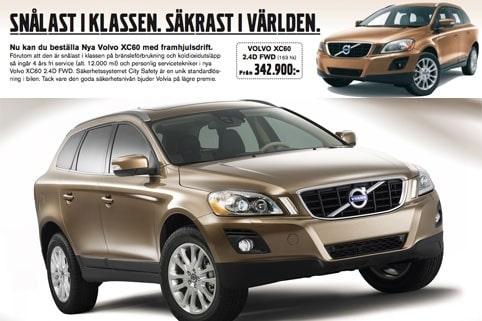 10 februari. Toyota stämmer Volvo efter att sistnämnda beskriver nya XC60 som världens säkraste bil.