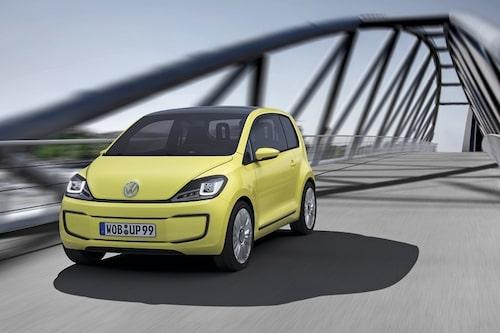 14 september. Volkswagen visar även upp E-Up! Concept som kan ses som 2000-talets Bubbla. Eldrift så klart.
