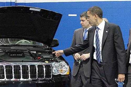 20 maj. USA:s president Barack Obama lägger fram nya krav på hur växthusgaserna från den amerikanska trafiken ska minska.