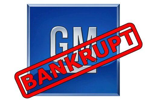 1 juni. GM söker konkursskydd. Amerikanska staten tar över 60 procent av ägandet.