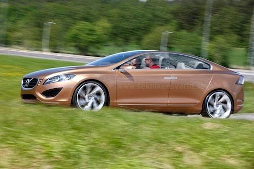 29 maj. Teknikens Värld får exklusivt provköra Volvo S60 Concept.