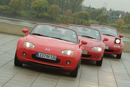 13 augusti. Mazda MX-5 firar 20-årsjubileum och svenska Miataklubben anordnar träff med hela 125 Miator på en och samma plats samtidigt.