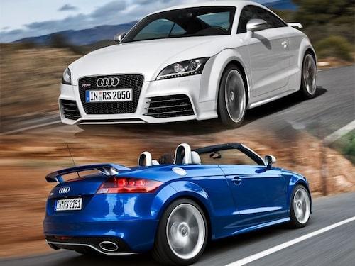 3 mars. Audi visar den snabbaste och starkaste TT-versionen någonsin – TT RS med 340 hästkrafter.