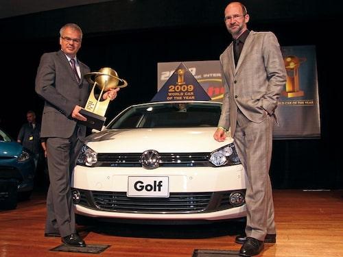 9 april. Nya Volkswagen Golf utses till World Car of the Year 2009.