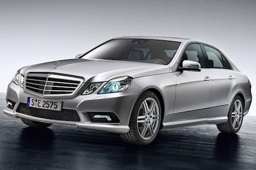 Nya Mercedes E-klass presenteras i Detroit.