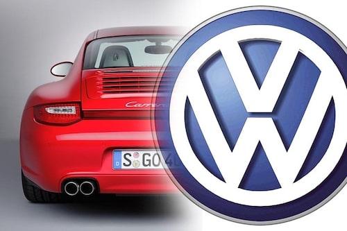 22 oktober. Volkswagen betalar 40 miljarder kronor för att köpa 49,9 procent av Porsche.