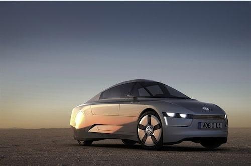 14 september. En ny 1-litersbil från Volkswagen ser dagens ljus. Bilen, som är ett koncept, nöjer sig med 0,149 liter diesel per mil.