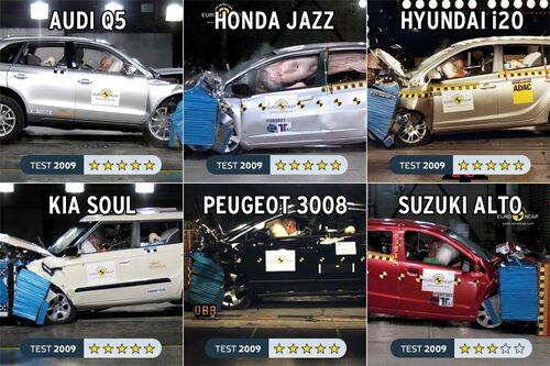 27 maj. Nya Suzuki Alto misslyckas i Euro NCAP med endast tre av fem möjliga stjärnor i betyg.