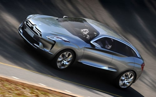23 april. Vi provkör den antagligen mest futuristiska konceptbil vi någonsin kört – Citroën Hypnos.