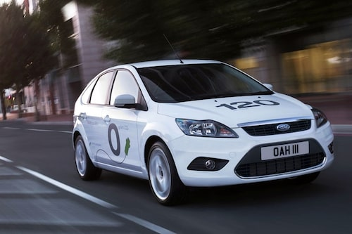 17 september. Ford vill inte vara sämre än Volvo och visar därför Focus BEV.